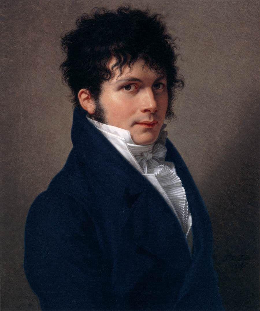 François-Xavier Fabre Title: Portrait of a Man Date:1809