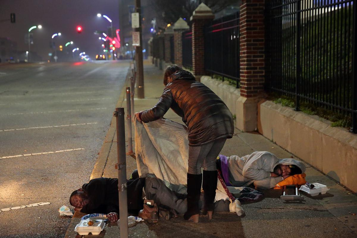 Some homeless in need of cleaning supplies while others unfamiliar with the coronavirus