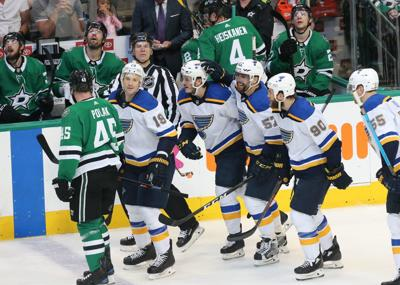 Blues and Stars play in Game 6 of the playoffs