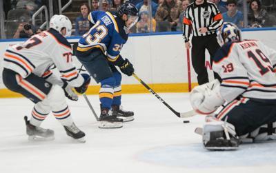 Blues take on the Edmonton Oilers