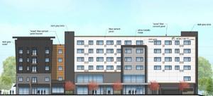 LuxLiving σχέδια για ένα άλλο διαμέρισμα του έργου, η μία στο Πανεπιστήμιο της Πόλης
