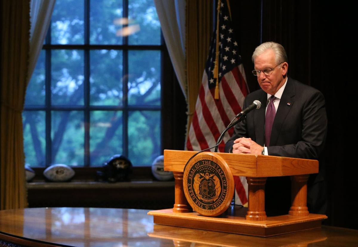 Missouri legislature's last day