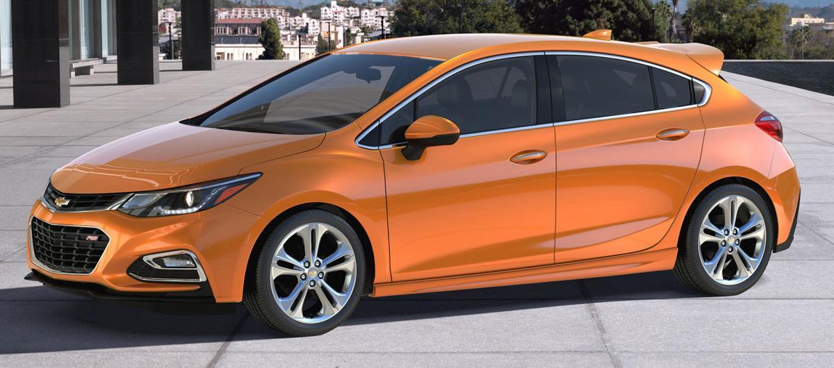 2017 Chevrolet Cruze Hatchback Generation 2 Offers Door Total Up
