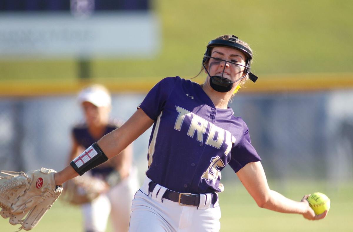 Sullivan at Troy Softball