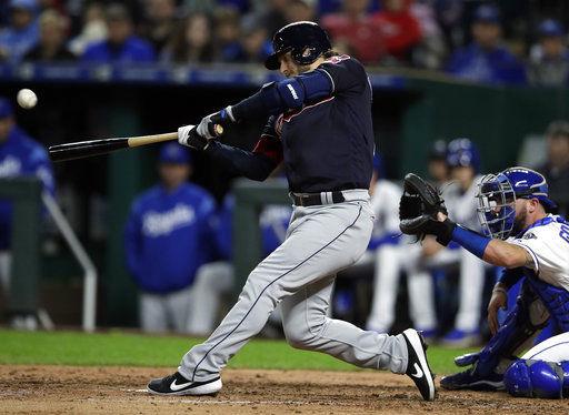Donaldson powers 10-run inning, Indians beat Royals 14-6