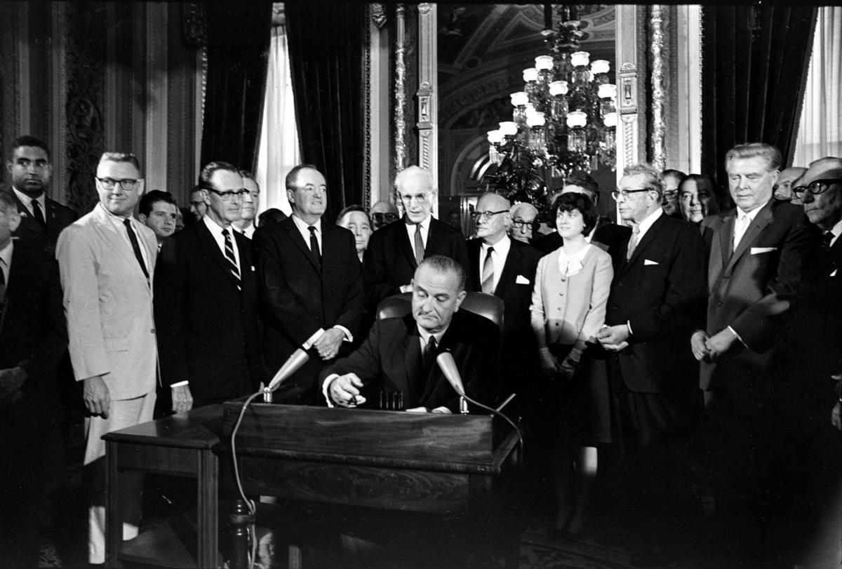 JOHNSON VOTING RIGHTS ACT 1965