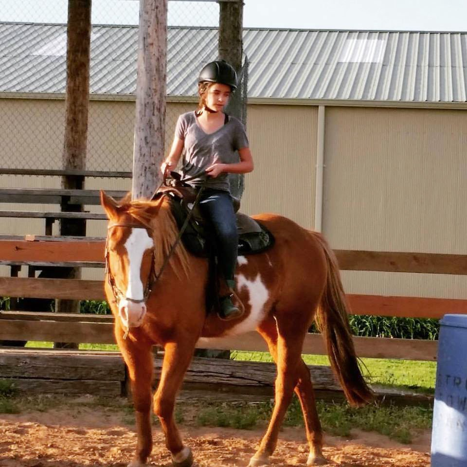 Strong Tower Ranch: Hadassah and Bella share lesson