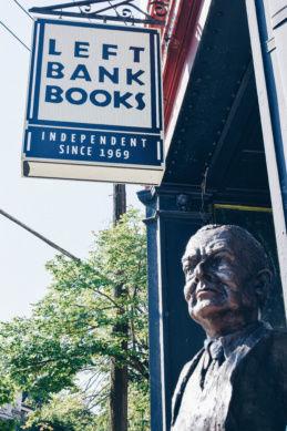 T.S. Eliot sculpture