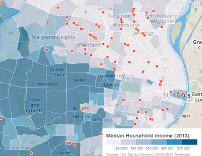 payday loan map screenshot