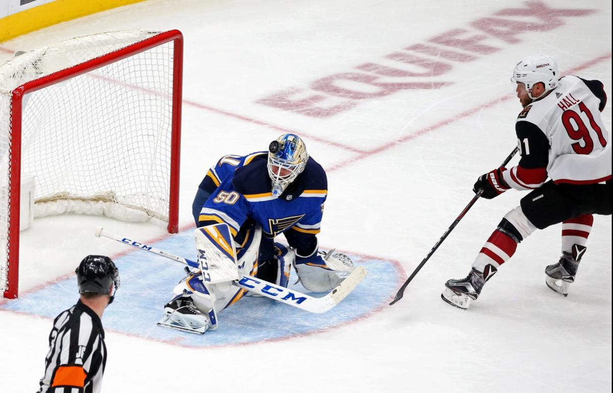 BenFred: Blues needed Binnington to lock in, and it appears he has done just that