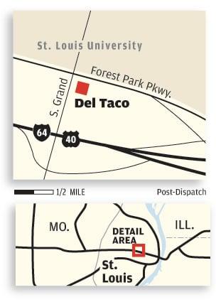 Del Taco map