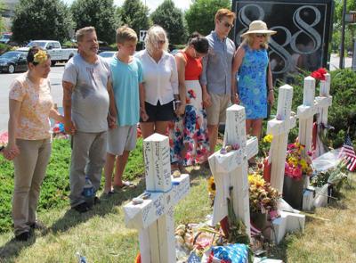 Memorial for Capital Gazette journalists gunned down