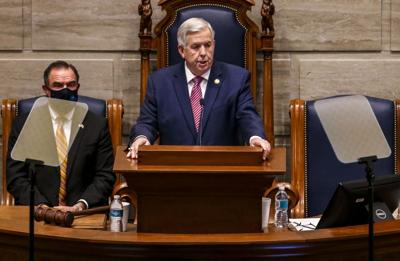 Gov. Parson delivers the State of the State address