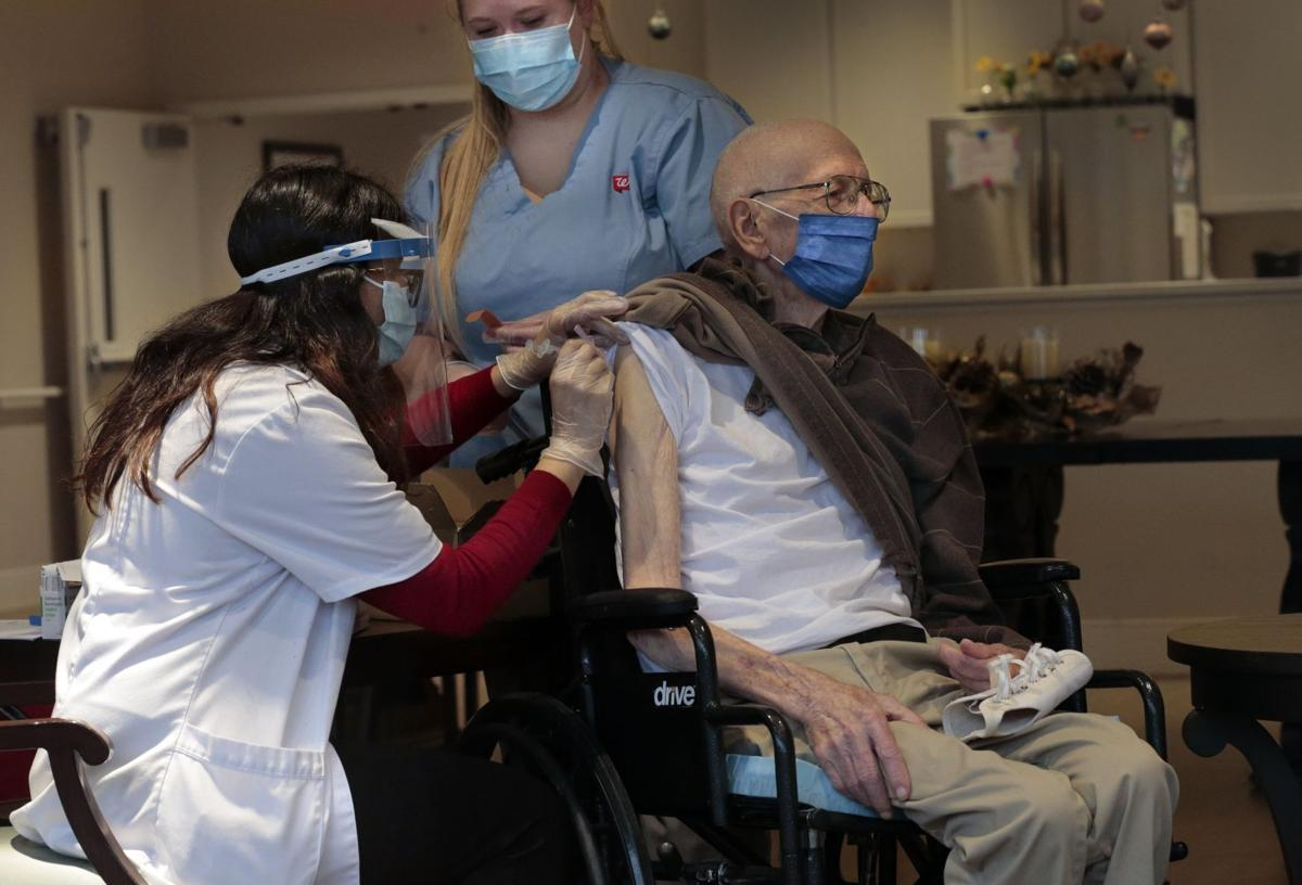 Moderna vaccine arrives for retirement home residents