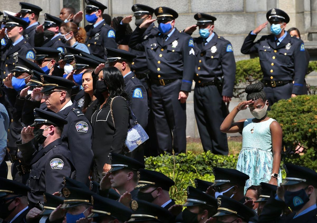 St. Louis police Officer Tamarris Bohannon remembered
