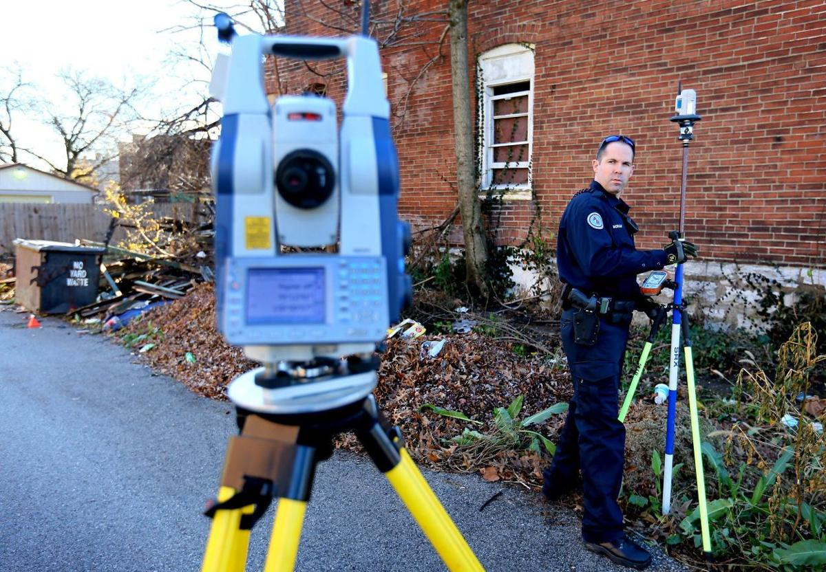 Accident reconstruction technology being used at police involved shooting scenes