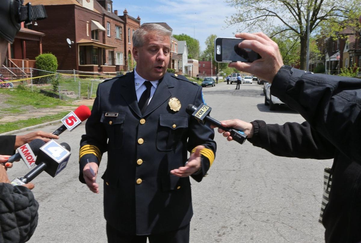 Cops converge on police shooting scene on Ridge