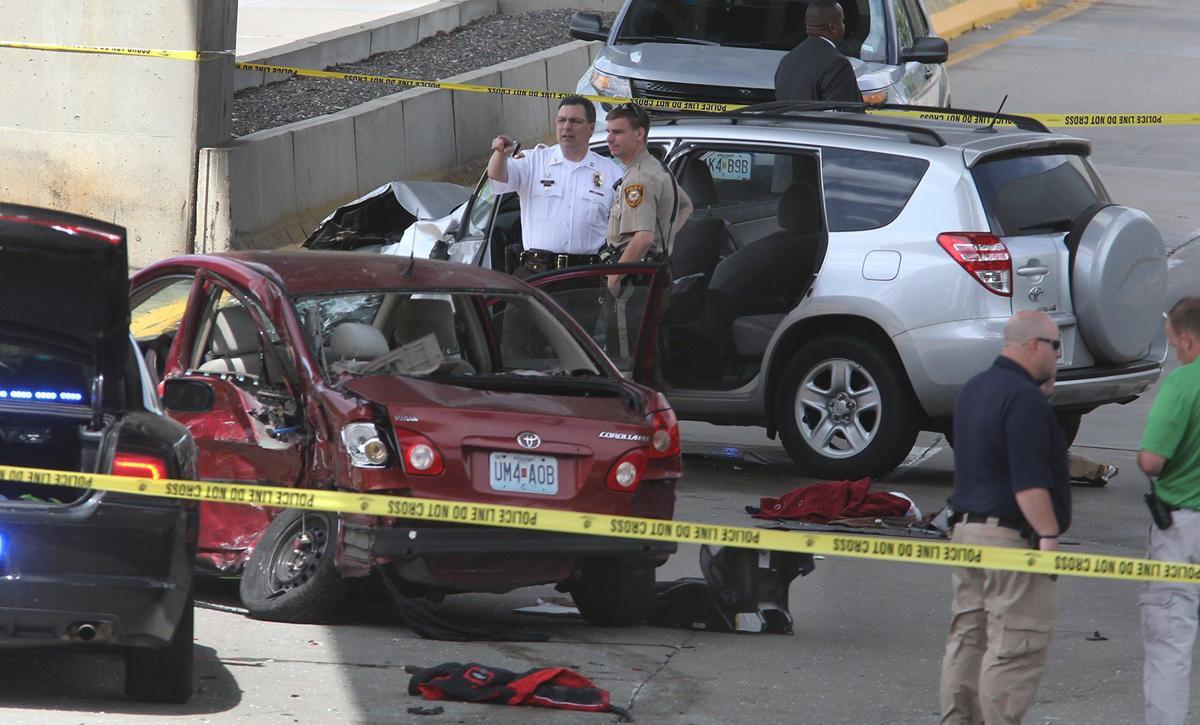 Police chase leads to crash near Lambert International Airport