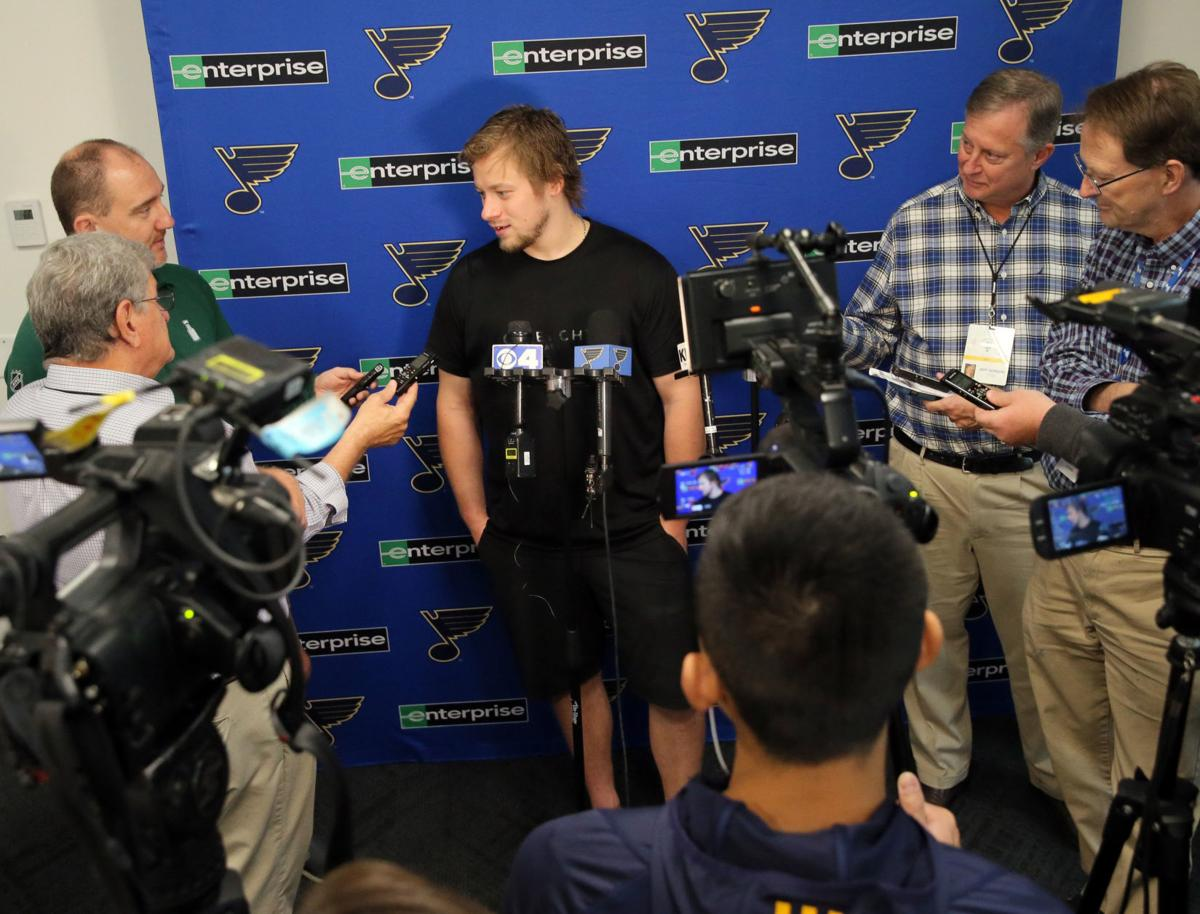 Tarasenko good to go on first day of camp