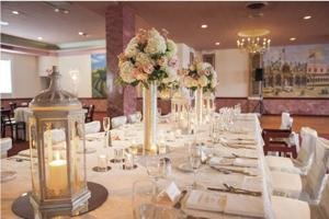 Rose of the Hill Table Setting
