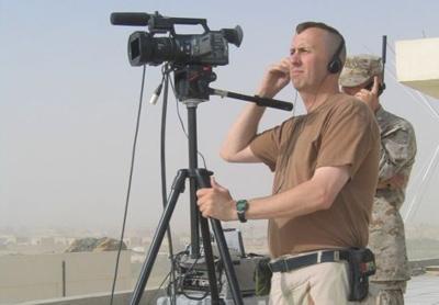 Michael Sandknop in Iraq