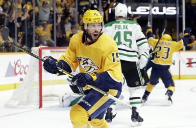 Nhl Playoffs Predators Top Stars In Overtime Hockey Stltoday Com