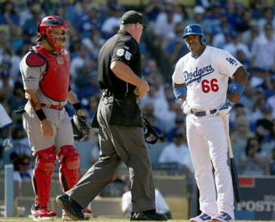 Cardinals v Dodgers, NLCS Game 5