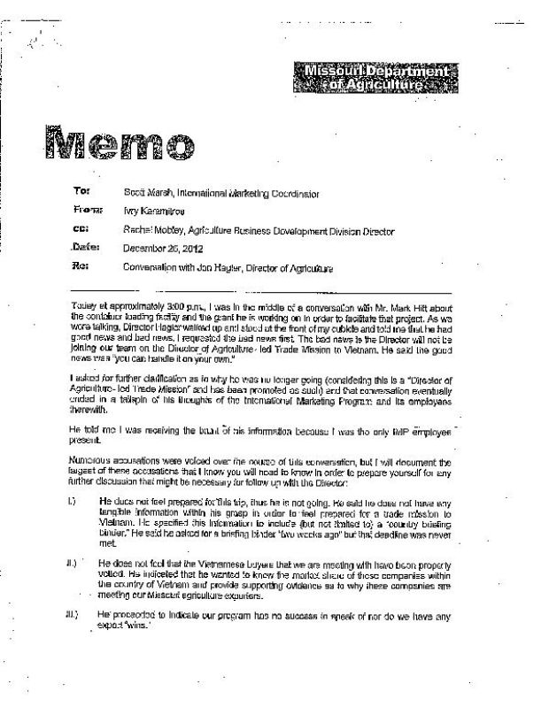 what is the difference between a memo and a letter