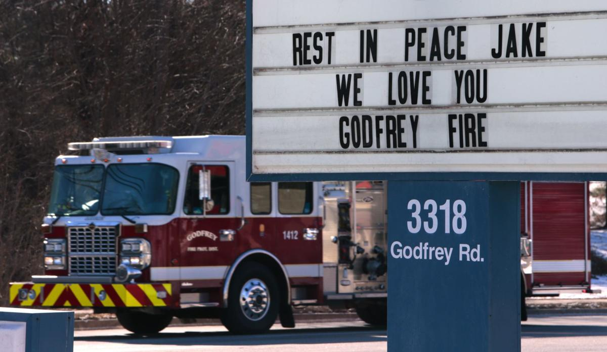 Godfrey mourns loss of fire captain