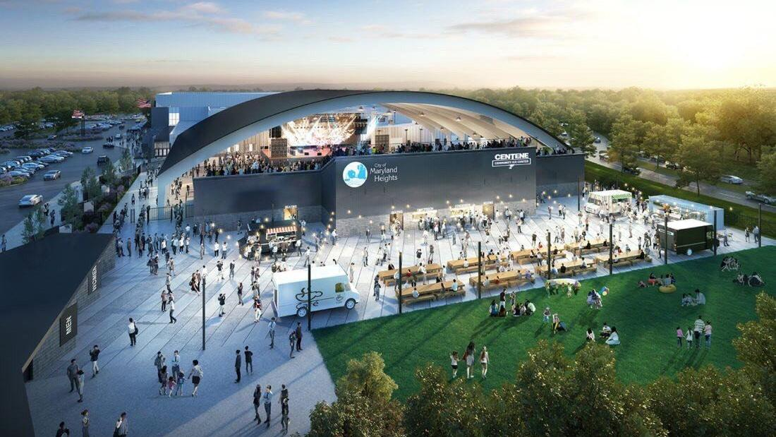 Celebrate the Blues' new practice facility with a party — jugglers, food trucks and more