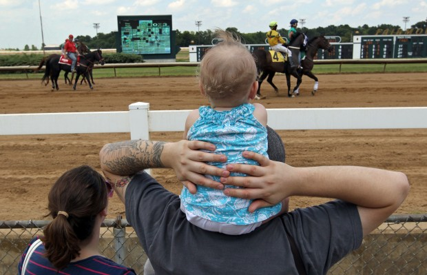 Fairmount Park's day races become a big attraction for