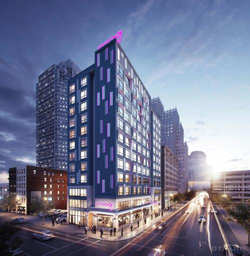 New 154-room Moxy hotel planned on Olive in downtown St. Louis