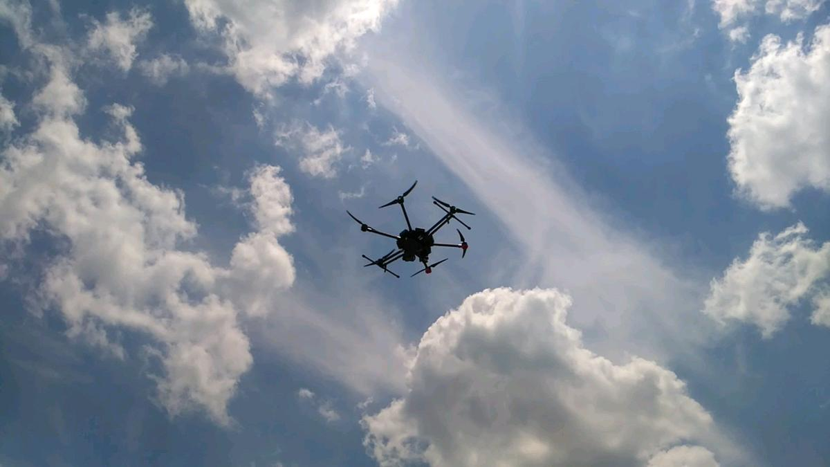 Madison County drone flight