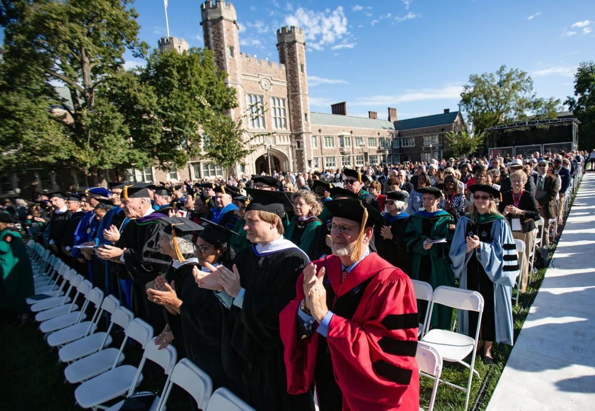 Washington University chancellor inauguration