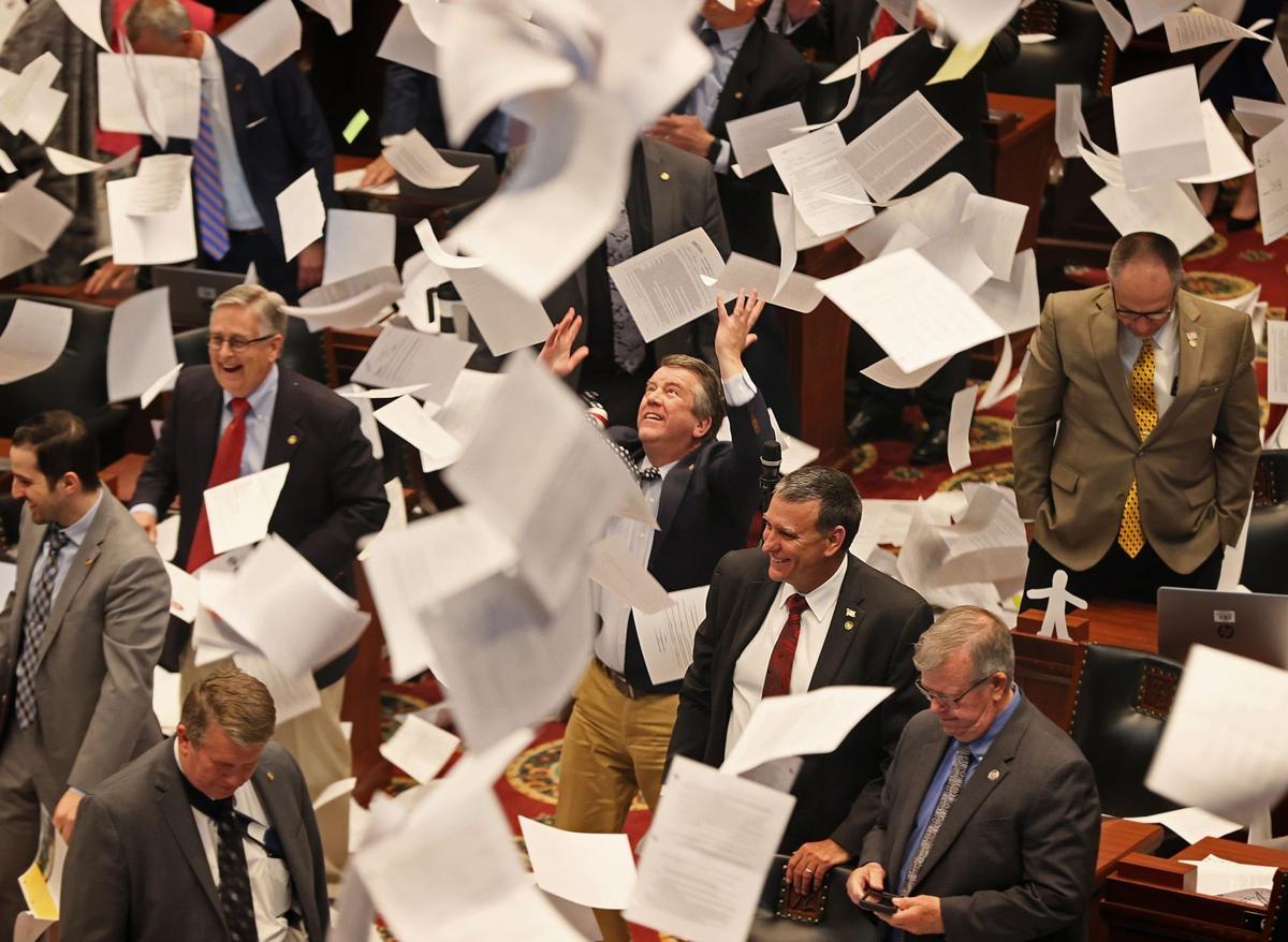 Last day of the Missouri Legislature's 2021 regular session