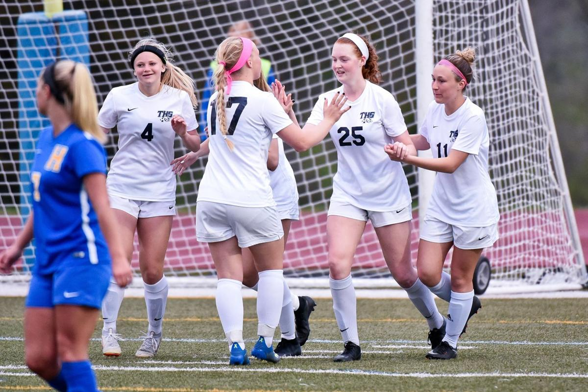 4/11/19 - Girls Soccer - Timberland at Francis Howell