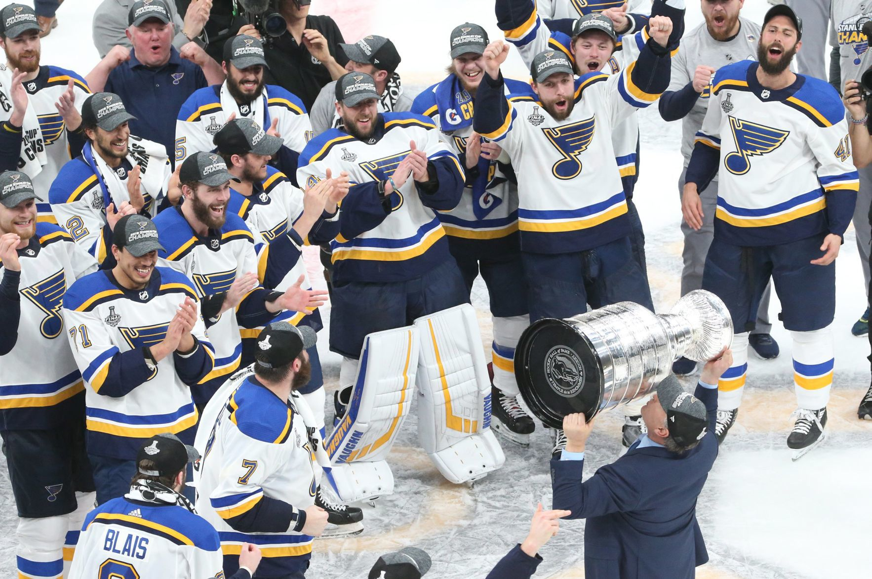 At last! The St. Louis Blues become first   St. Louis Blues ...