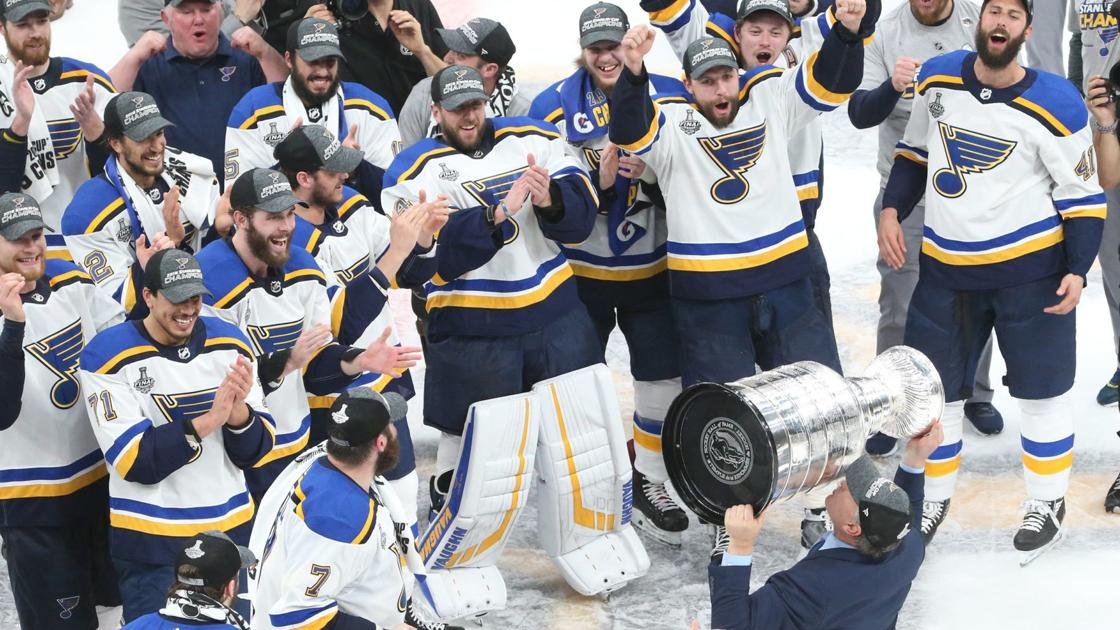 'We did it!' Blues hoist their first Stanley Cup