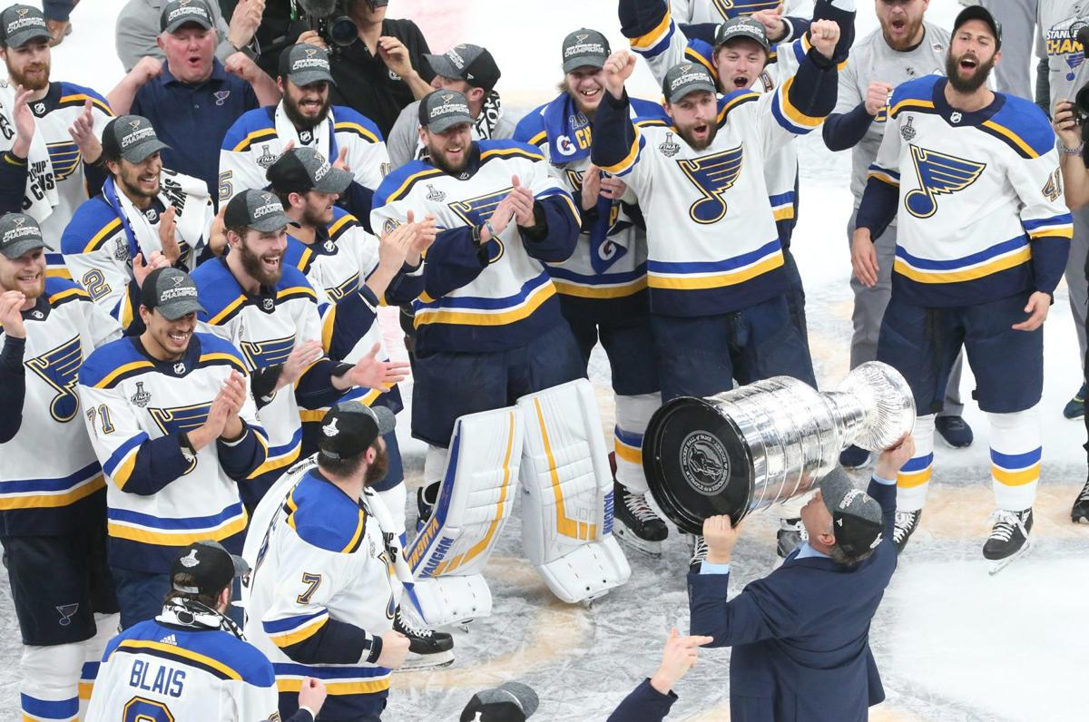 We Did It Blues Hoist Their First Stanley Cup Morning Skate Stltoday Com