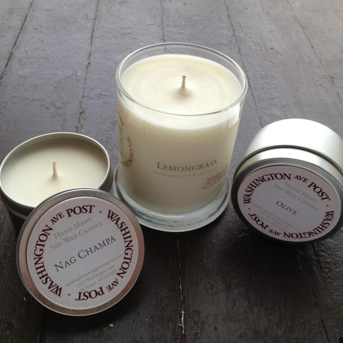 Made in St  Louis: Homemade soy candles   Home and Garden   stltoday com