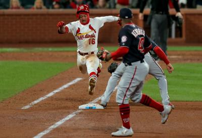 St. Louis Cardinals v. Washington Nationals in NLCS Game 1