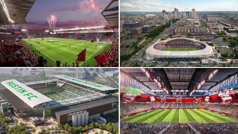 Who is St. Louis' competition in its bid for a Major League Soccer team?