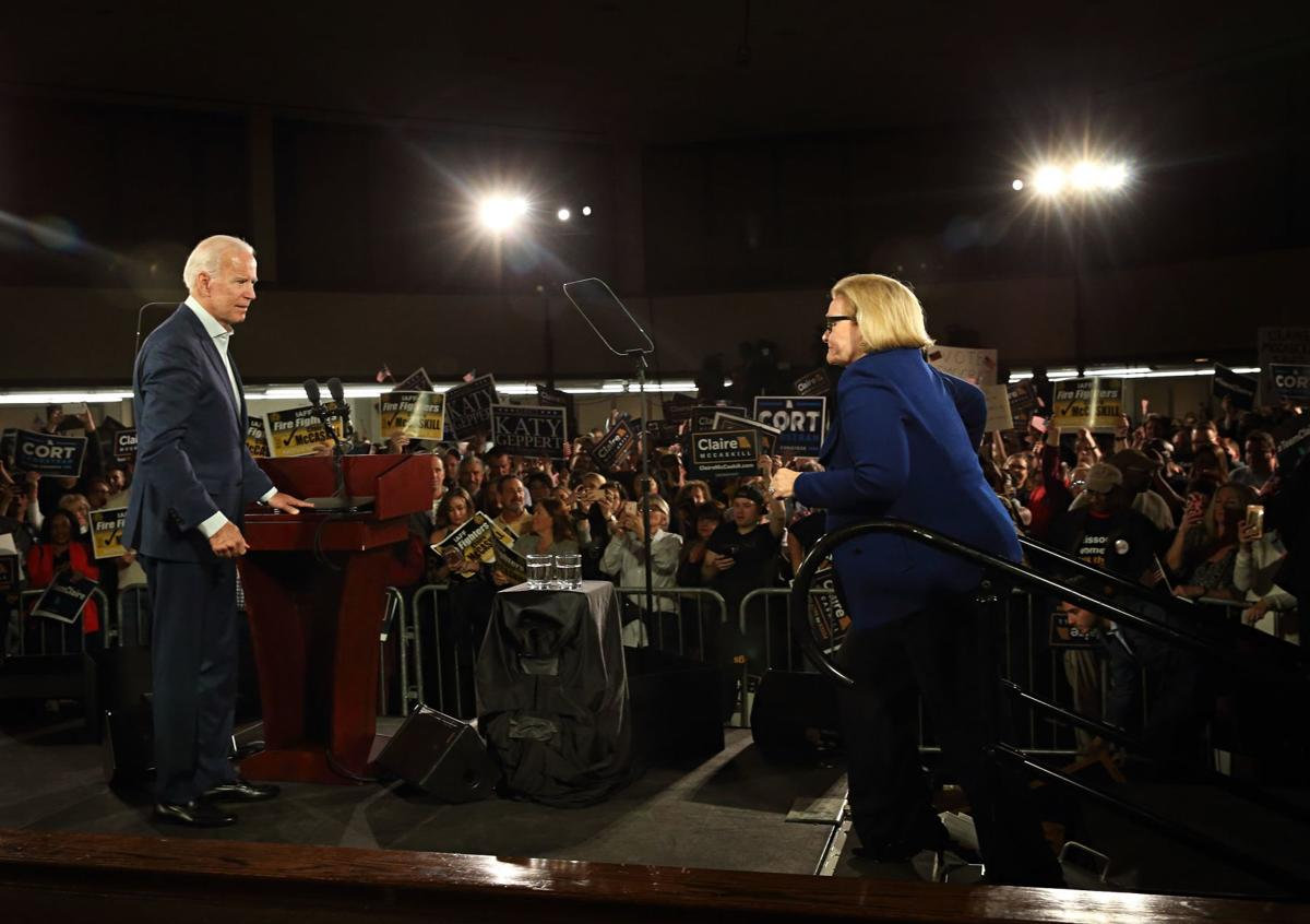 Joe Biden stumps for Claire McCaskill in St. Louis