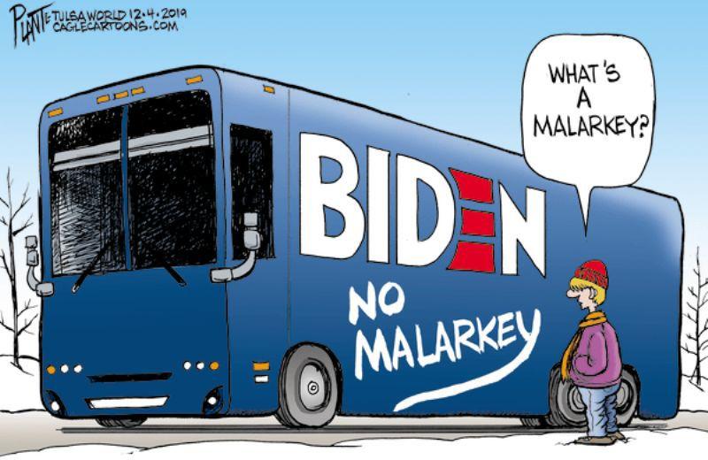 In the cartoons: Biden; Trump; Food stamps