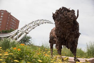 Sioux Falls: Sculpture and nature in South Dakota
