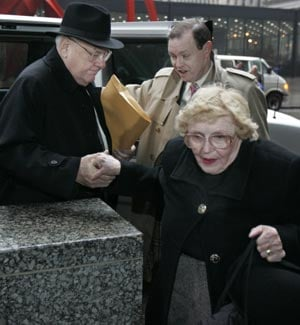 Ex-Illinois Gov. George Ryan with wife, Lura