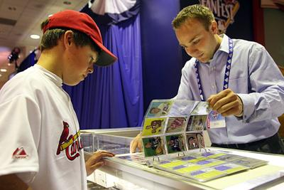 Momentum Greed And Baseball Cards Business Stltodaycom