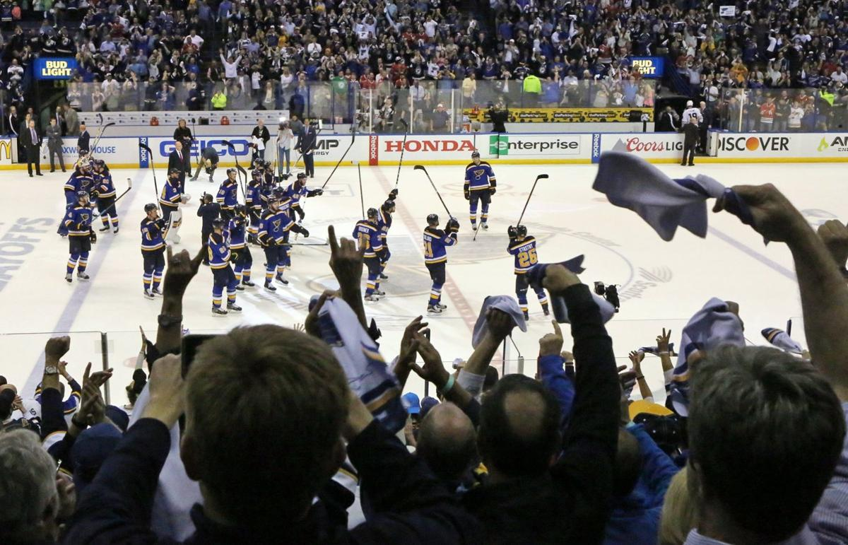 Blues host critical game seven with the Blackhawks
