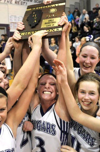 Carlyle-Breese Central girls basketball 2