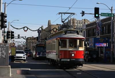 Loop Trolley in University City